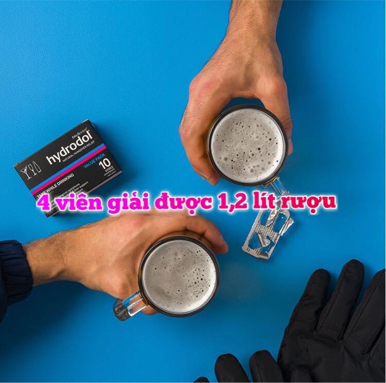 Viên uống giải rượu siêu nhanh Hydrodol