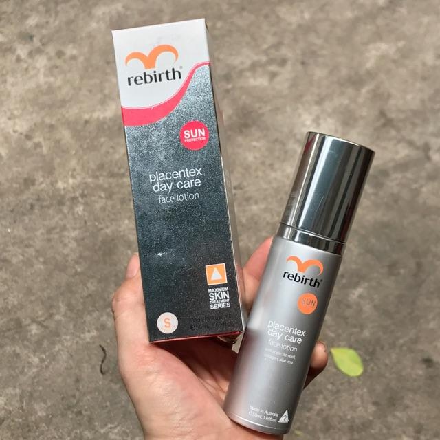 Rebirth Placentex Day Care Face Lotion (RM10) 50ml chính hãng