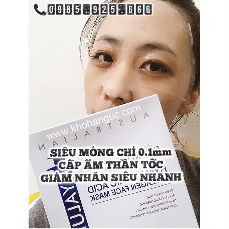 Mặt nạ căng da dưỡng trắng Eaoron Hyaluronic Acid Collagen