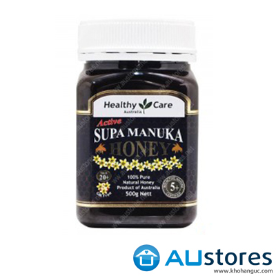 Mật ong Manuka Honey Healthy Care MGO 20+ 5+ 500gr
