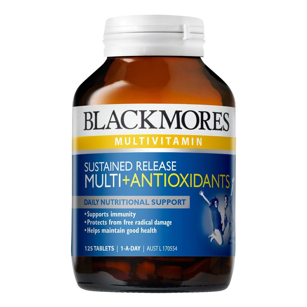 Vitamin tổng hợp Blackmores Sustained Release Multi + Antioxidants 125 viên