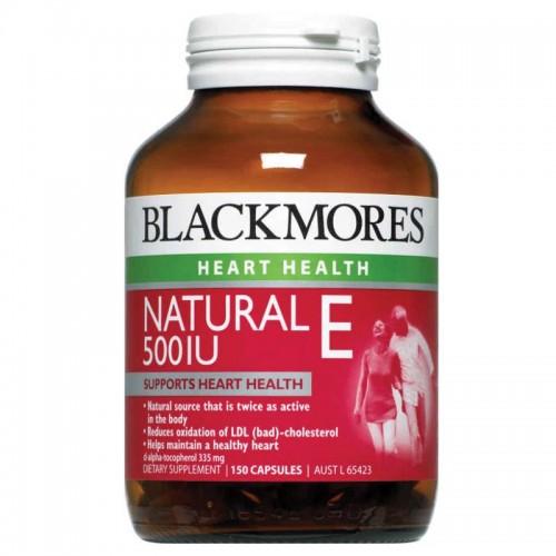 Vitamin E Blackmores Blackmores Natural Vitamin E 500IU 150 viên