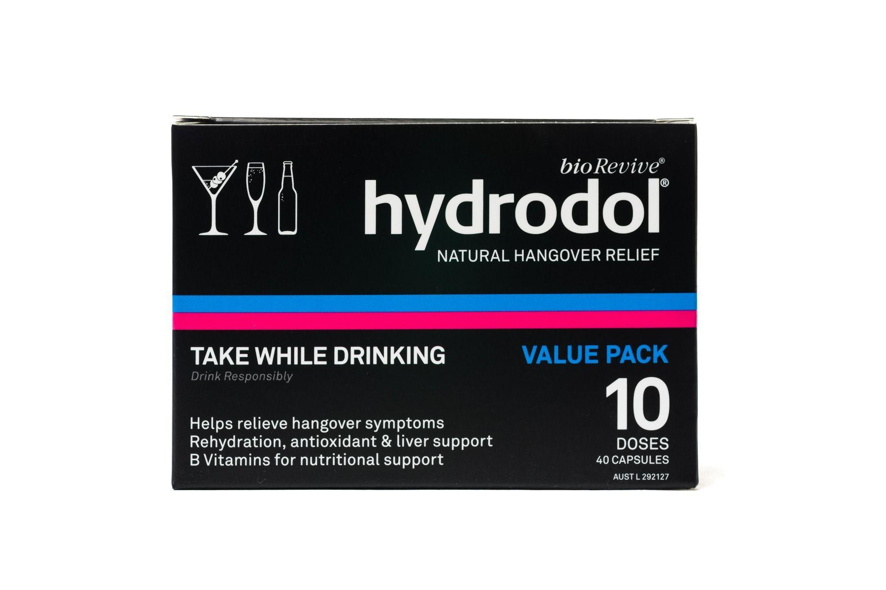 Viên uống giải rượu siêu tốc Hydrodol 40 viên