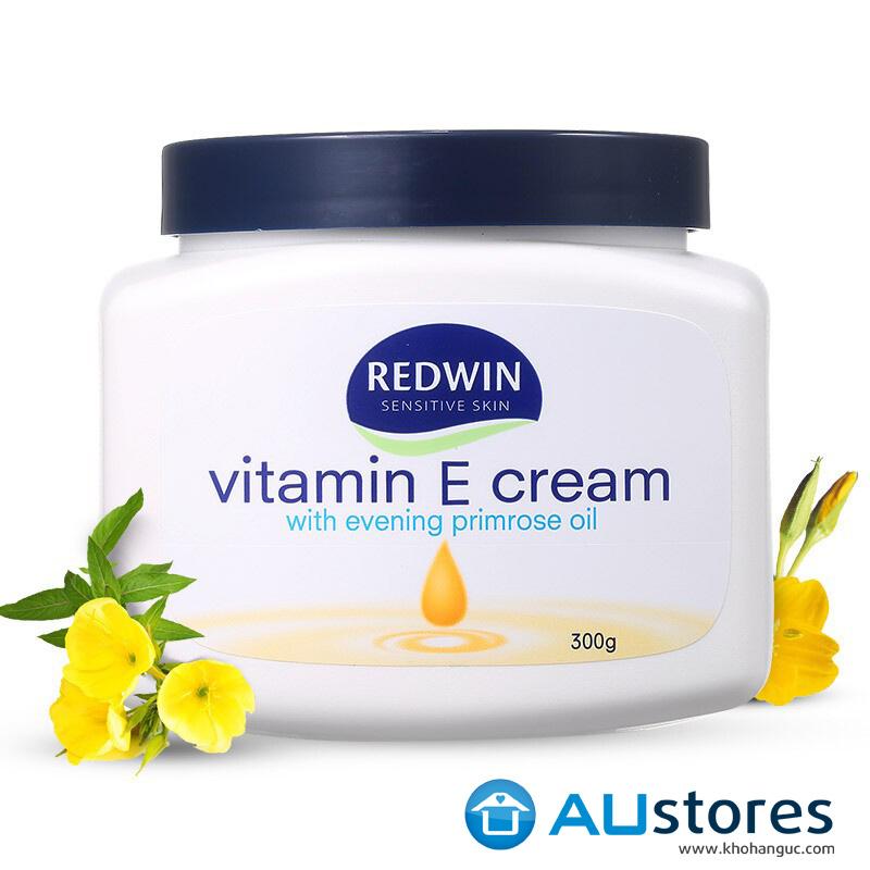 Kem Dưỡng Da Mềm Mịn Redwin Vitamin E Cream