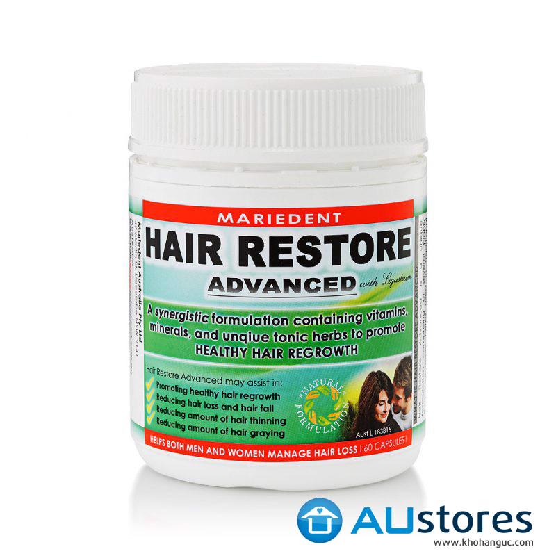 Viên Uống  Mọc Tóc Và Chống Rụng Tóc Hair Restore Advanced