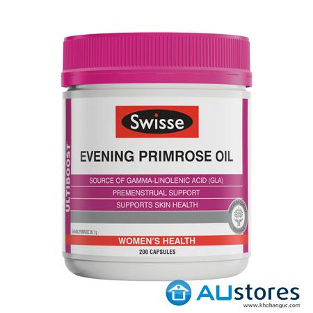 Tinh dầu hoa anh thảo Swisse Evening Primrose Oil 200 viên