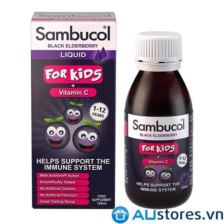 Siro Sambucol tăng sức đề kháng cho trẻ từ 1-12 tuổi