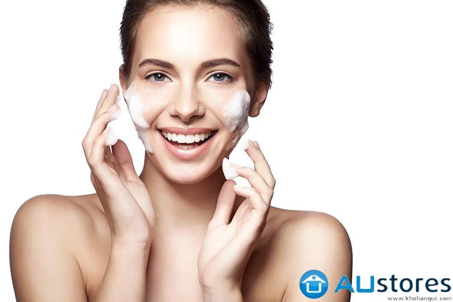 Da mặt khô:Bí quyết chọn sữa rửa mặt phù hợp