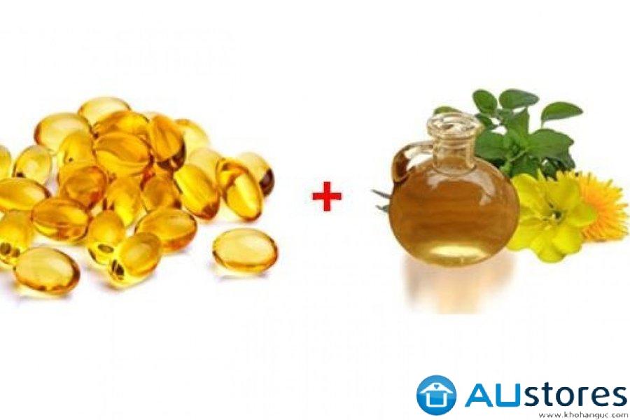 Có nên kết hợp uống đồng thời tinh dầu hoa anh thảo và Vitamin E?