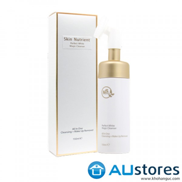 Sữa rửa mặt trắng da Skin Nutrient Perfect White Magic Cleanser 150ml