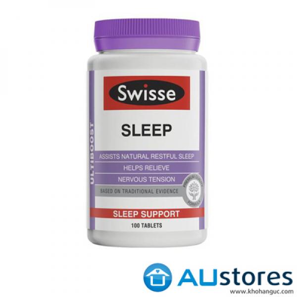 Viên uống hỗ trợ giấc ngủ Swisse Sleep 100 viên