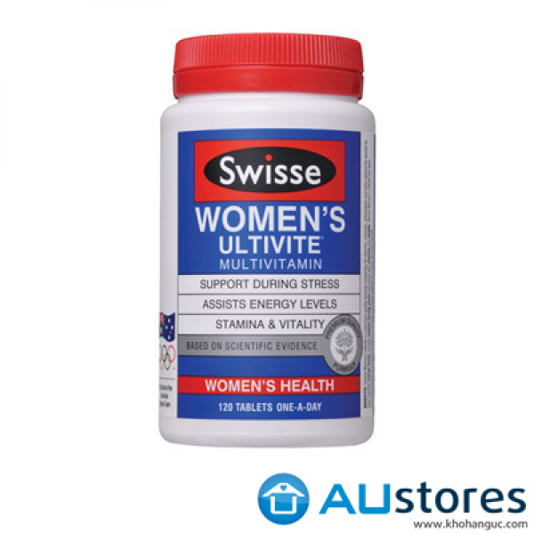 Vitamin Tổng Hợp cho Phụ Nữ Swisse Womens Ultivite Vitamin 120 viên