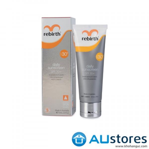 Kem chống nắng Rebirth Daily Sunscreen SPF30 75ml