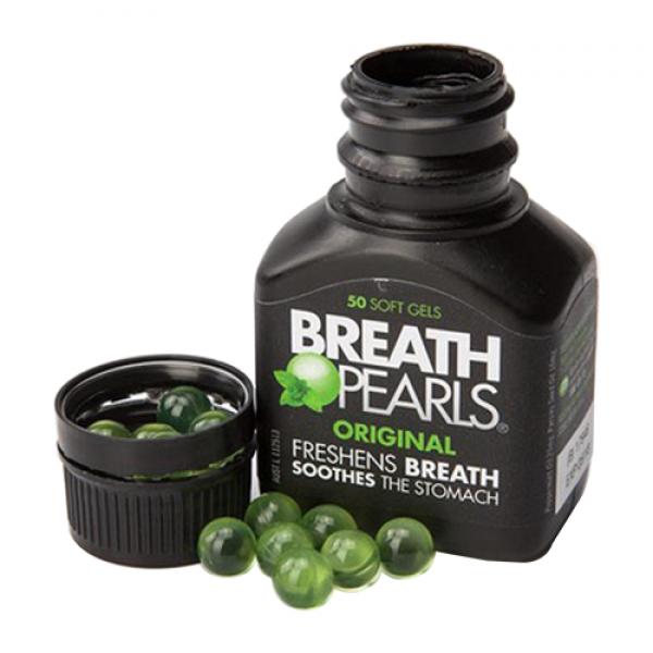 Breath Pearls Original viên uống thơm miệng 50 viên