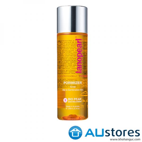 Nước hoa hồng dành cho da dầu và da hỗn hợp  Lanopearl Porimizer Toner 200ml