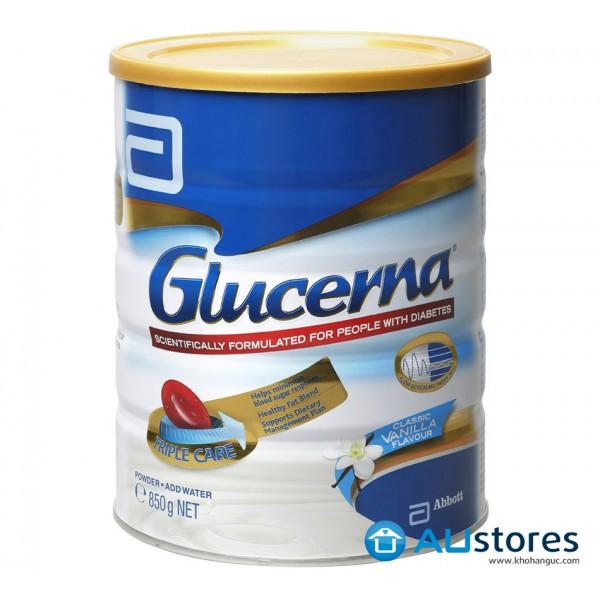 Sữa Abbott Glucerna hương Vani 850g( Dành cho bệnh nhân tiểu đường)