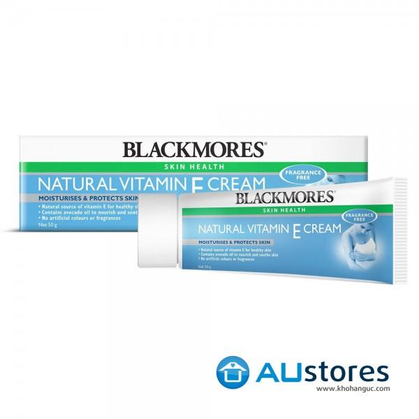 Kem dưỡng da Blackmores Natural Vitamin E Cream 50g