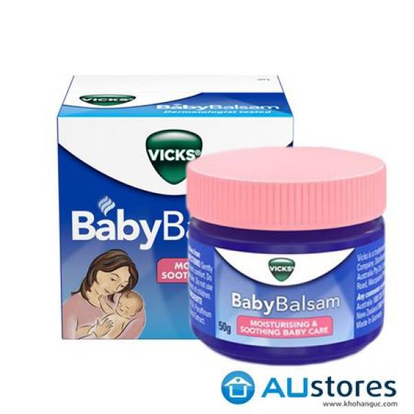 Dầu bôi giữ ấm cho bé Vicks Baby Balsam