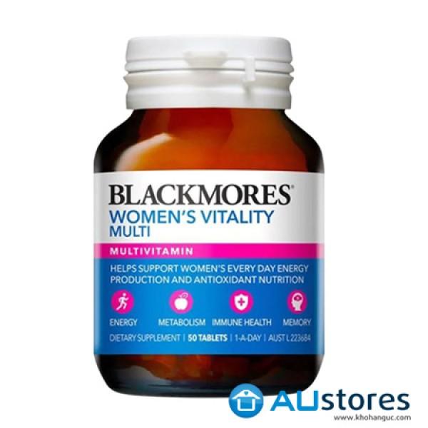 Vitamin tổng hợp cho phụ nữ Blackmores Women's Vitality Multi