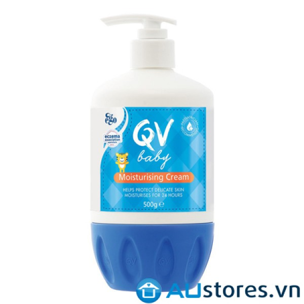 Kem dưỡng ẩm cho trẻ Ego QV Baby Moisturizing Cream 500g
