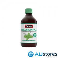 Nước diệp lục Swisse Chlorophyll 500ml vị bạc hà