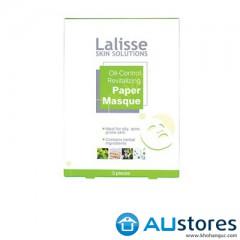 Mặt nạ trị mụn kiềm dầu Lalisse oil-control revitalizing paper masque hộp 3 miếng