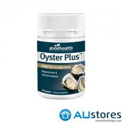 Tinh chất hàu Oyster Plus Goodhealth tăng cường sinh lý 60 viên