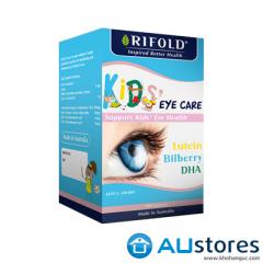 Vitamin bổ mắt cho bé Rifold Kids Eye Care 100 viên