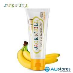 Kem đánh răng hữu cơ Jack N'Jill vị chuối 50 gr - dành cho trẻ từ 6 tháng tuổi trở lên