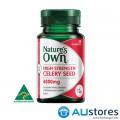 Viên uống hỗ trợ người bị Gout Nature's Own Hight Strength Celery Seed 40000mg 30 viên