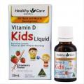 Healthy Care Vitamin D Kids Liquid vitamin D dạng lỏng vị dâu