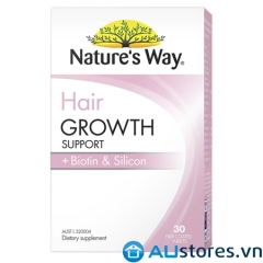 Viên uống mọc tóc Natures way Hair Growth Support