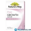 Viên uống mọc tóc Natures way Hair Growth Support