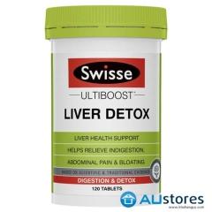 Thải độc gan Swisse Ultiboost Liver Detox 120 viên