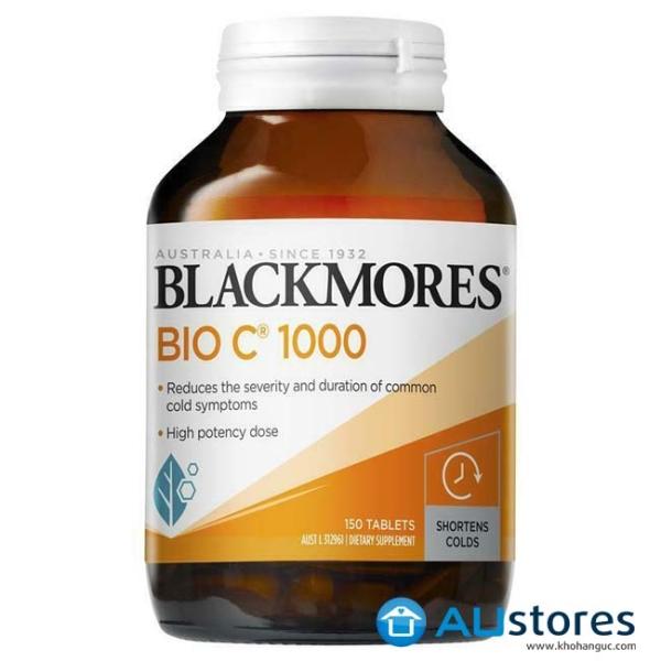 Viên uống bổ sung vitamin C blackmores Bio C 1000mg 150 viên