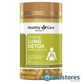 Viên uống giải độc phổi Healthy Care Original Lung Detox hộp 180 viên của Úc