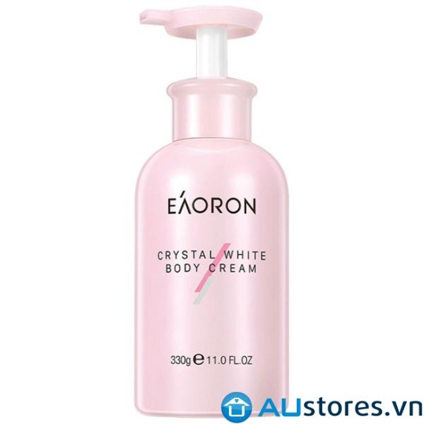 Kem dưỡng trắng da toàn thân Eaoron Crystal White Body Cream 330g