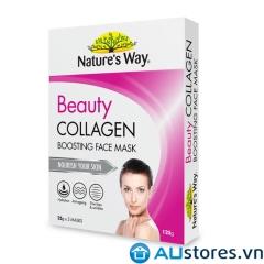Mặt nạ Siêu Trẻ Hóa Natures Way Beauty Collagen Face Mask 5 miếng