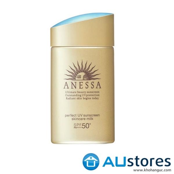 Sữa Chống Nắng Dưỡng Da Bảo Vệ Hoàn Hảo Anessa Perfect UV Sunscreen Skincare Milk SPF 50+ PA++++ (60ml)