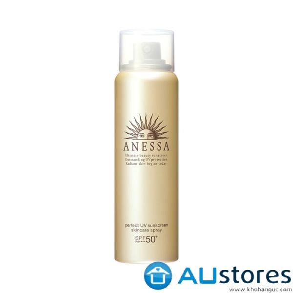 Xịt chống nắng bảo vệ hoàn hảo Anessa Perfect UV Sunscreen Skincare Spray 60g