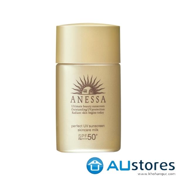 Sữa chống nắng bảo vệ hoàn hảo Anessa Perfect UV Sunscreen Skincare Milk - SPF 50+, PA++++ 20ml
