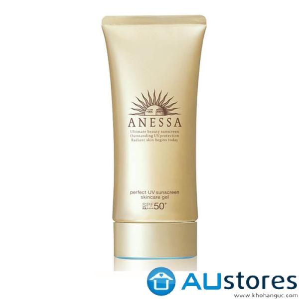 Gel Chống Nắng Dưỡng Da Bảo Vệ Hoàn Hảo Anessa Perfect UV Sunscreen Skincare Gel SPF 50+ PA++++ (90g)