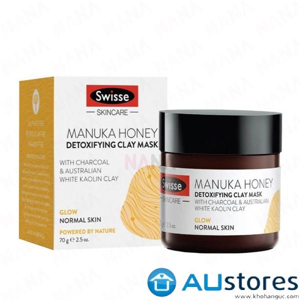 Mặt nạ thải độc Swisse manuka honey detoxifying mask 70gr