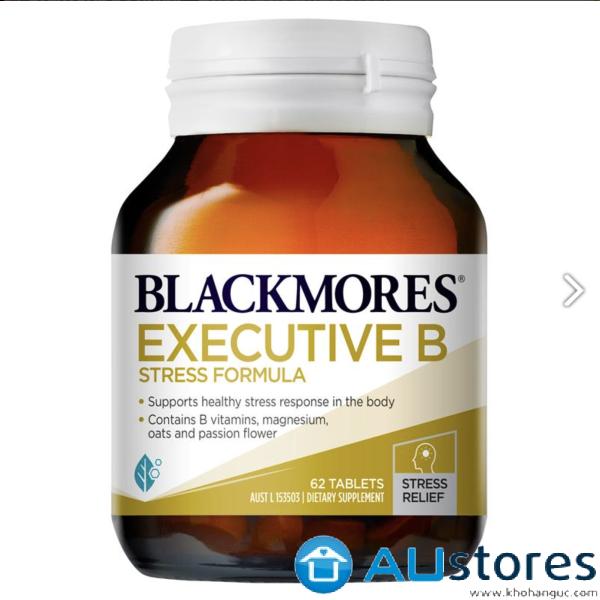 Viên giảm stress Blackmores Executive B Stress Formula 62 viên