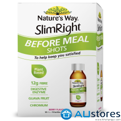 Đồ uống giảm cân Natures Way SlimRight Before Meal Shots 10 x 50mL