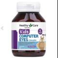 Viên bổ mắt cho bé Healthy Care Kids Computer Eyes 60 Chewable Tablets