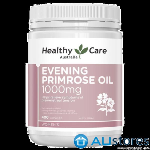 Tinh dầu hoa anh thảo Healthy care evening primrose oil 1000mg 400 viên