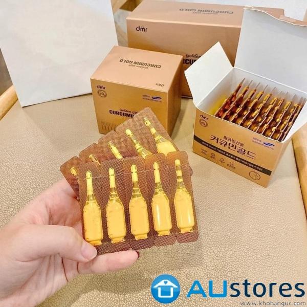 Tinh chất nghệ Nano Golden Gift Curcumin Gold Hàn Quốc 100 ống