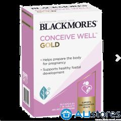 Viên uống tăng khả năng thụ thai Blackmores Conceive Well Gold 56 viên